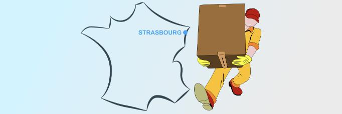 Comment commander une livraison de courses à Strasbourg?