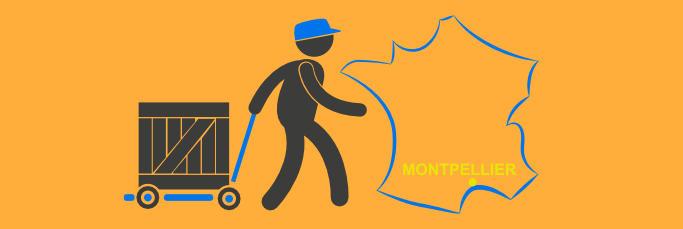 Sur quel site est-il possible d'obtenir une livraison des courses à Montpellier?