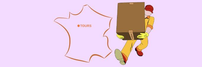 Quel enseigne propose une livraison de courses à domicile à Tours?